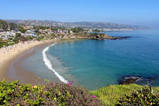 Laguna Beach, CA: View of Beach