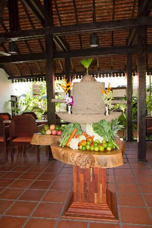 The Moon Boutique Hotel: Organic vegetable