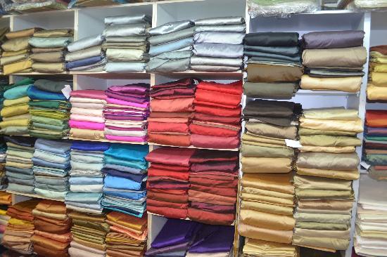 Mahaco Impex : Dupion Silk