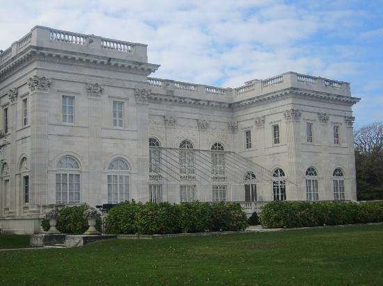 Newport Mansions: Back view of Marble house