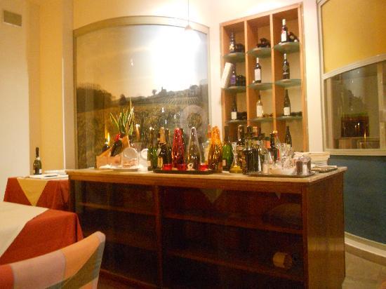 Hotel Portavaldera: La tavernetta