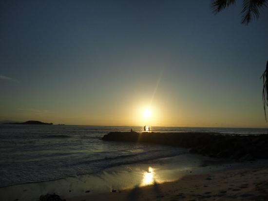 Cap Jean Marie Beach Villas: Sunset