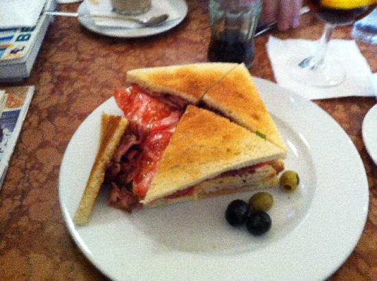 Einstein Kaffee: Sandwich Continental, ¡buenísimo!