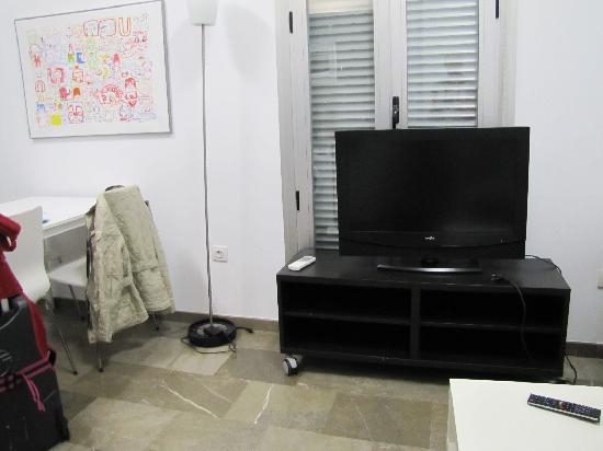 Hostal Costa Azul: Wohnzimmer