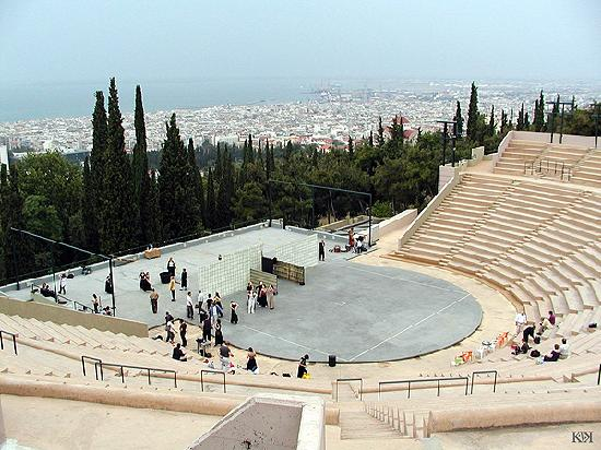 National Theatre of Northern Greece: Theatro Dassous (Forest Theatre)