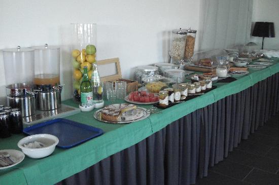 Hotel Hibiscus Residence: le buffet petit déjeuner