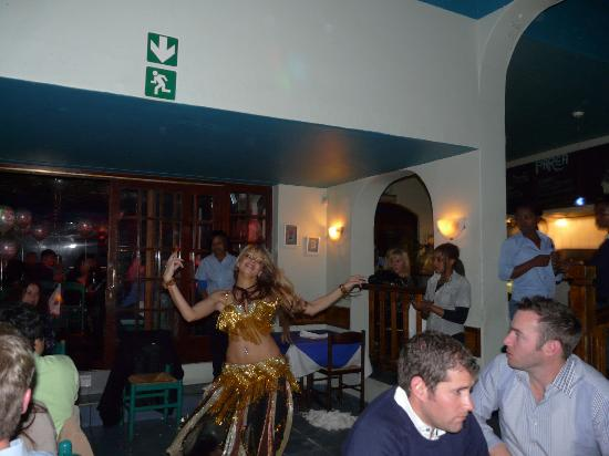 Parea Restaurant : Belly Dancing at Parea Greek Taverna (Fri & Sat eve only)
