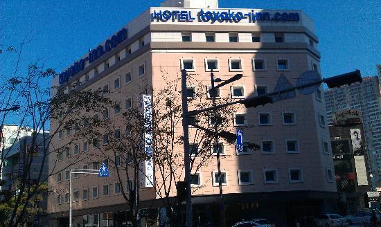 Toyoko Inn Busan Haeundae: рядом с пляжем