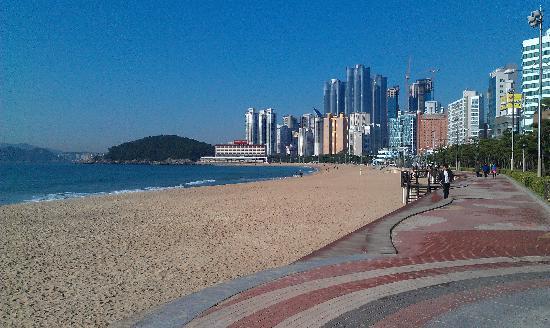 Toyoko Inn Busan Haeundae: вид с пляжа