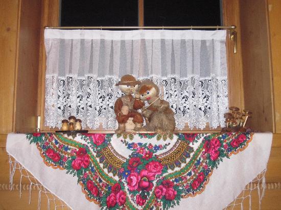 Hotel Skalny Dworek: An example of the highlander decor here
