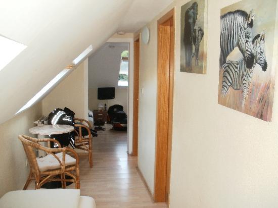 Hotel Bergschlösschen: attic room