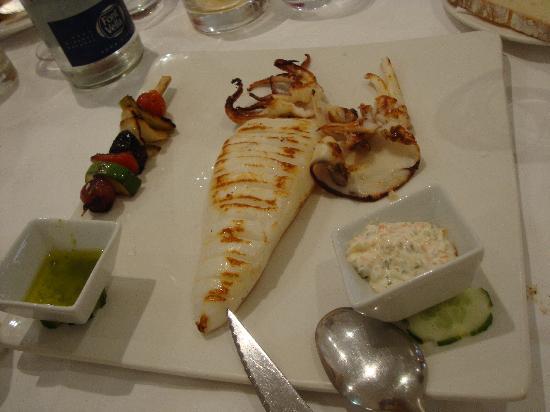 Restaurante Navarro: Exemple d'un plat de poisson