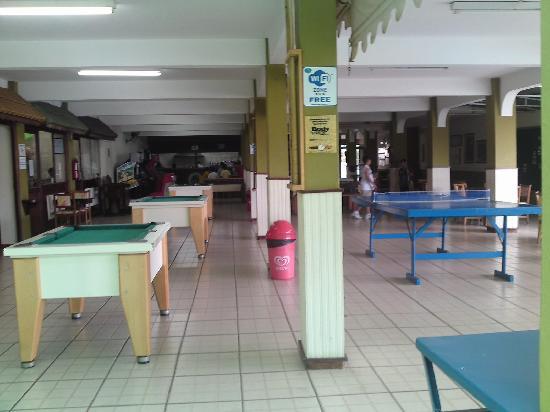 Hotel Fazenda Fonte Colina Verde: salão de jogos