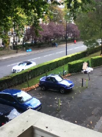 Hyde Park Rooms Hotel: vue de la fenêtre