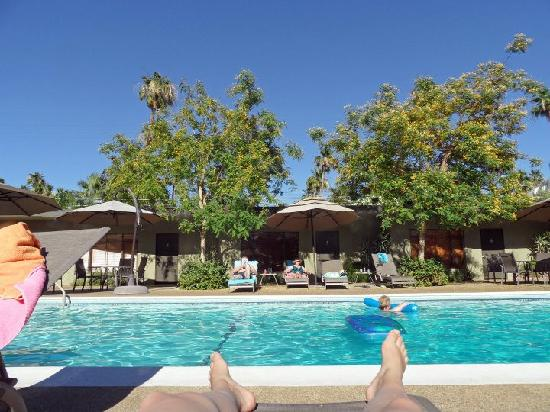 Desert Riviera Hotel: Relaxing by the pool