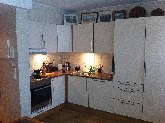 Amunds Appartement: Kjøkkenkroken