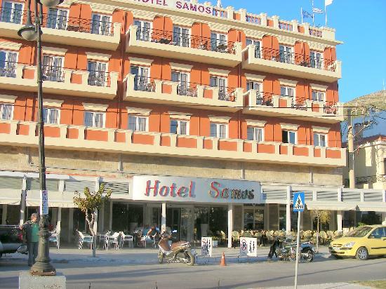 Samos City Hotel: Themistokli Sofouli Street 11, Samos Town 83100, Greece