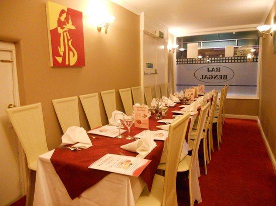 raj bengal: party room