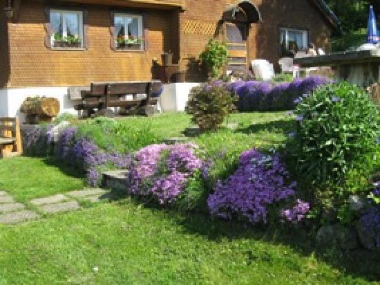Jägerhof Bernau: Gartenterrasse