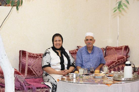 Riad lalla fatima : Lalla Fatima et Sidi Mokhtar