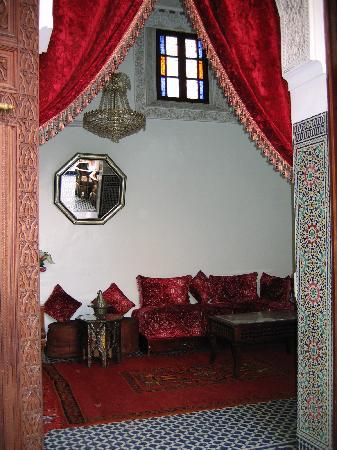 Riad lalla fatima : Entrée d'une des suites