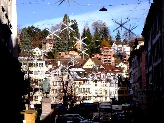 Sorell Hotel City Weissenstein: Il centro di San Gallo
