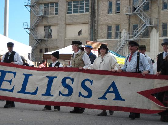 1877 Tall Ship ELISSA: Some of the volunteer crew