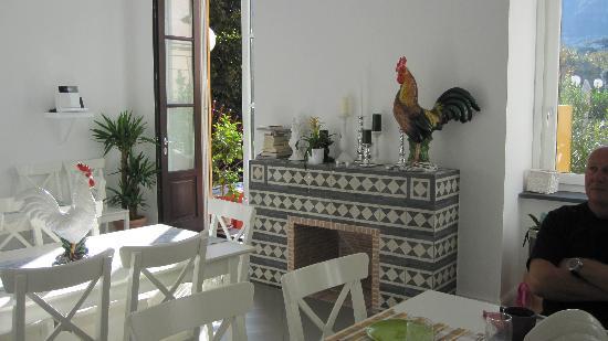 Palazzo Jannuzzi Relais: Breakfast area