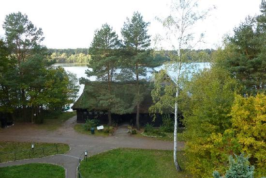 Van der Valk Naturresort Drewitz: The boat house - wonderfull view!