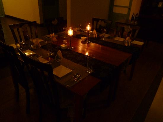Aanavilasam Luxury Plantation House: Candle Light Dinner