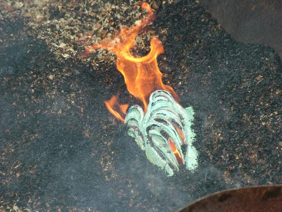Bodgers Farm Pottery: Raku not breakfast!