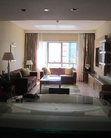 Nour Arjaan by Rotana - Fujairah: Nour by Rotana, Fujairah, nice large lounge