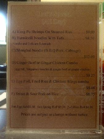 Pho-hoang-minh Vietnamese Restaurant : Lunch Specials