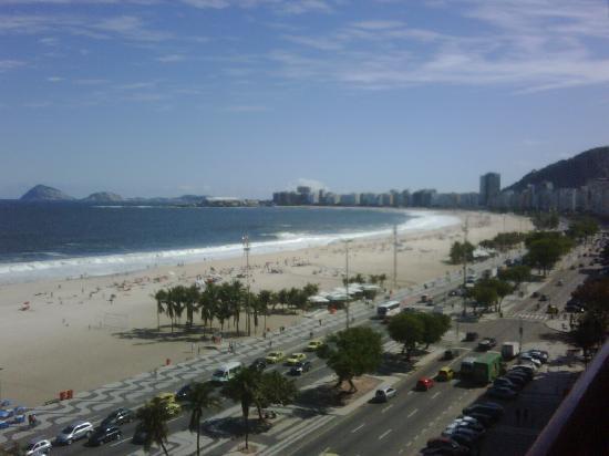 PortoBay Rio Internacional Hotel: panorama dal terrazzo