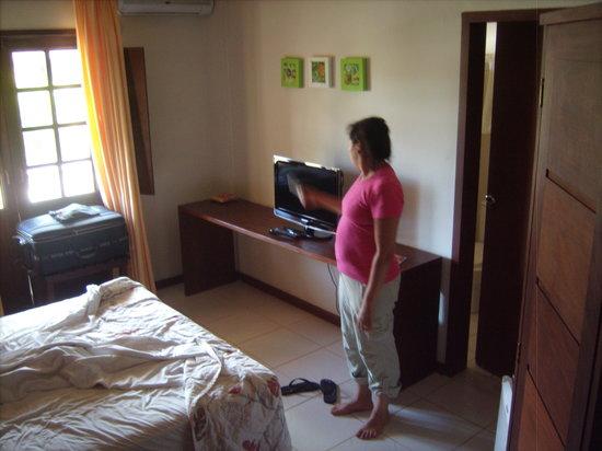 Hotel Eco Atlântico: Vista de Habitacion