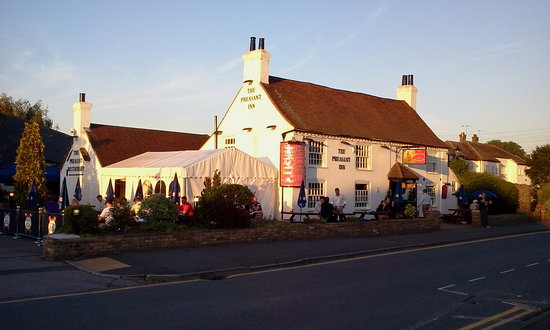 The Pheasant Restaurant & Pheasant Inn: The Pheasant late Afternoon