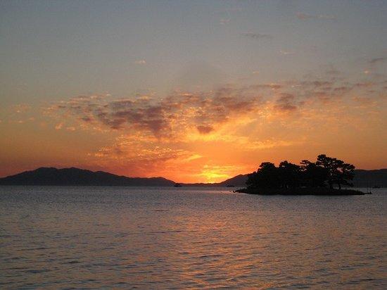 Shimane Prefecture, Japan: 宍道湖の夕日
