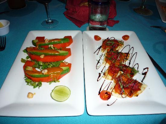 Daiquiri Dick's: vegetarian dishes