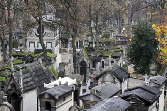 Cimetière du Père-Lachaise : Pere-Lechaise Cemetery