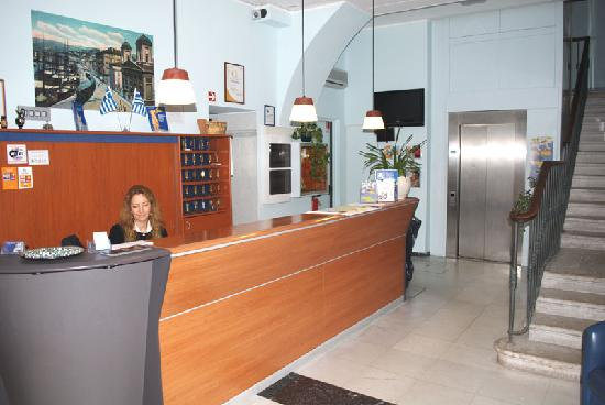 Hotel Filoxenia: Reception