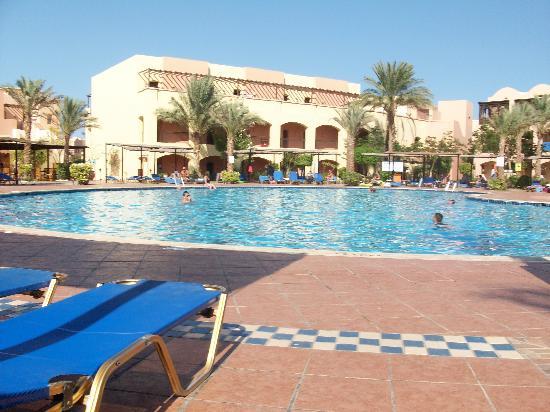 Jaz Makadi Saraya Resort: the quiet zone pool very relaxing