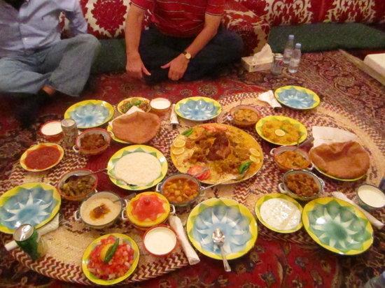 Traditional Arabic food experience - Najd Village, Riyadh Traveller