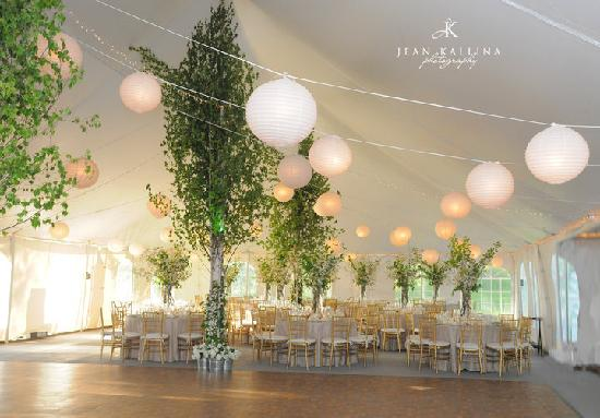 Full Moon Resort: Reception Tent