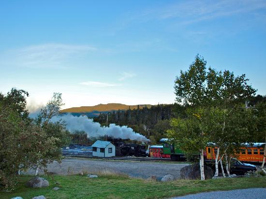 The Mount Washington Cog Railway: --