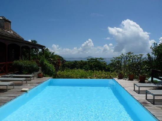 Le Jardin Malanga: superbe vue et piscine géniale