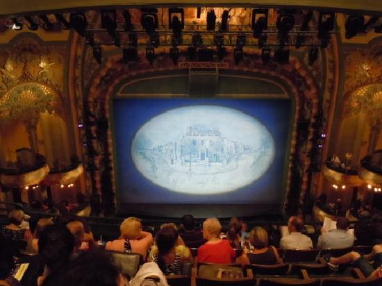Theater View From Box Seats Picture Of New Amsterdam