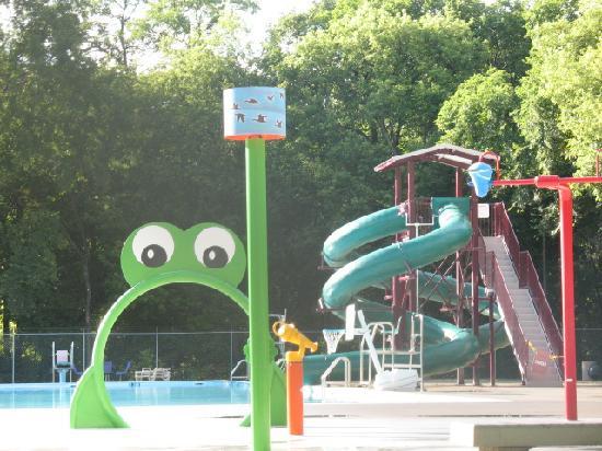 Kildonan Park: new additon to swimming pool
