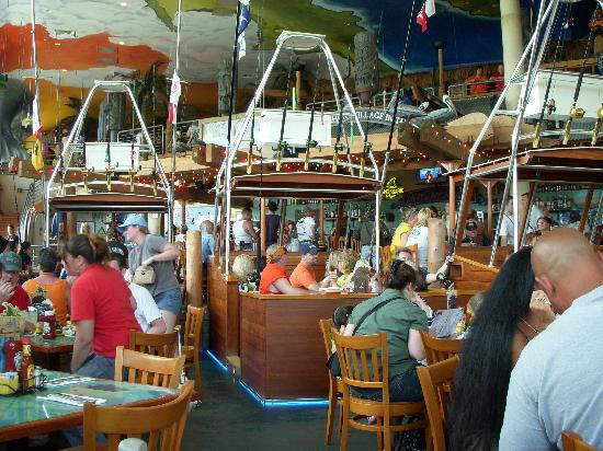 Margaritaville Myrtle Beach Inside The Dining Room