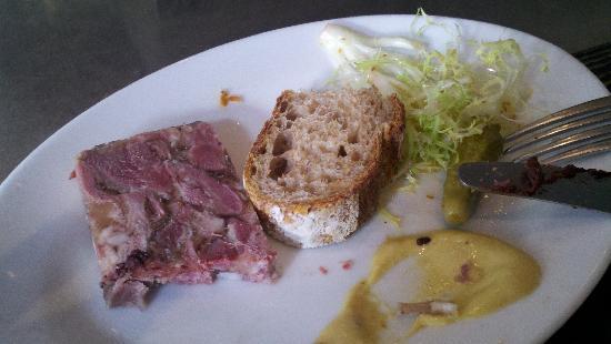 DBGB Kitchen & Bar: Fromage de Tete