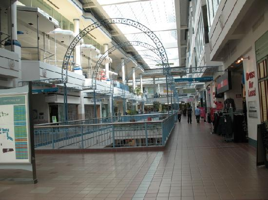 Portage Place: Looking down the main aisle